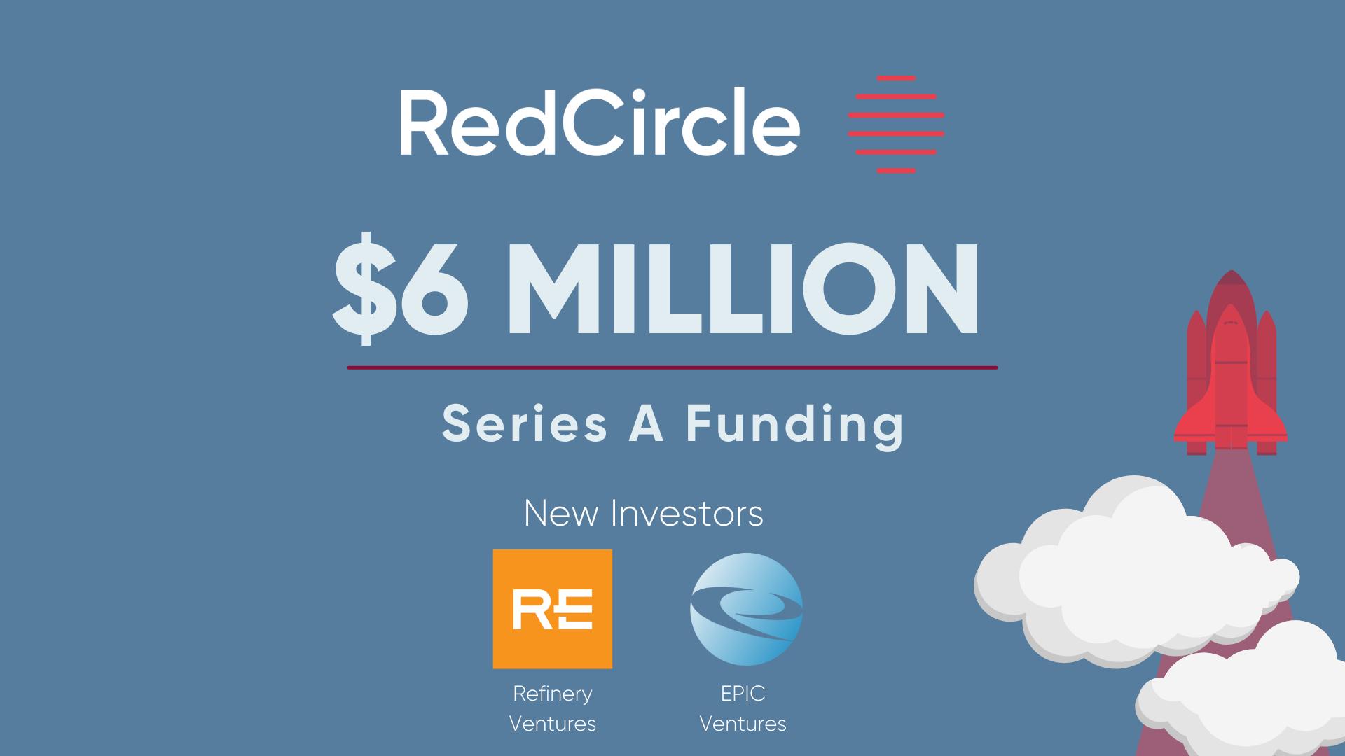 RedCircle Announces 6M raise